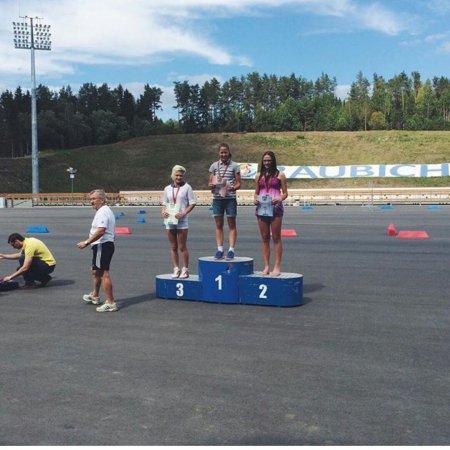 Христина Мацокина - победитель спринта!